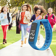 KID For Fitbit Style Activity Tracker Kid Pedometer Step Counter Fitness Band