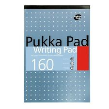 Pukka Pad A5 Writing Pad 160 Pages Ruled Notebook 80gsm Paper Office Notepad