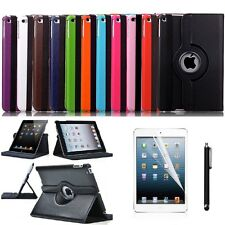 High Quality Apple iPad Mini 1, 2 & 3 Leather 360° Rotation Smart Stand Cover