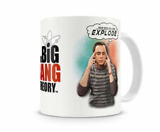 Officially Licensed The Big Bang Theory- Your Head Will Now Explode Coffee Mug