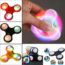LED Light Up Fidget Finger Spinner Hand Focus Ultimate EDC Bearing Stress Toy