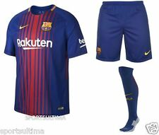 Nike Barcelona Home Kit Shirt 2017/18 - Kids