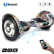 10'' BLUETOOTH HOVERBOARD SMART BALANCE MONOPATTINO ELETTRICO PEDANA SCOOTER