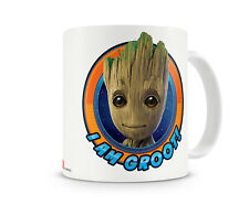 Officially Licensed Merchandise Guardians of The Galaxy- I Am Groot Coffee Mug