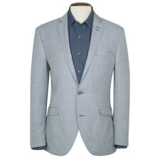 New Mens Brook Taverner Rossi Check Fashion Fit Jacket - Blue Check - All Sizes