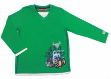 Salt & Pepper Traktor Farmer Langarmshirt green
