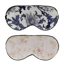 Double Side Soft Silk Sleep Aid Eye Mask Beauty Floral Shade Cover Blindfold