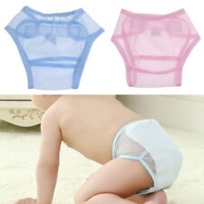 Summer Washable Mesh Nappy Cover Reusable Baby Toddlers Diaper Nappy Pocket 0-2T