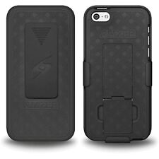 BRANDED NEW SHELLSTER KICKSTAND SHELL CASE COVER WITH BELT CLIP HOLSTER