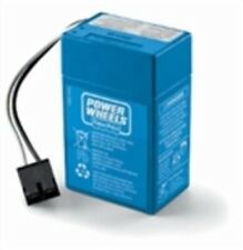Power Wheels 6v Volt Blue Battery: 00801-1457