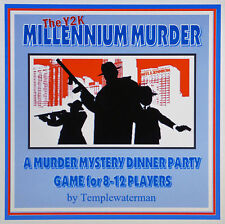 HOST A 1990's MILLENNIUM MURDER MYSTERY DINNER PARTY GAME ~ for 8-12 players