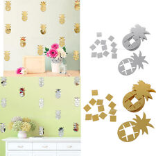 10Pieces Pineapple Wall Sticker for Kid's Room Modern Art Decorate