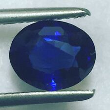 Natural Certified Royal Blue Sapphire 1.92 Carats Oval Loose Gemstone Unheated