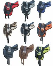 "All Purpose Treeless Saddle 16"" 17"" 18"" size Freemax Saddles Horse Riding Aug"
