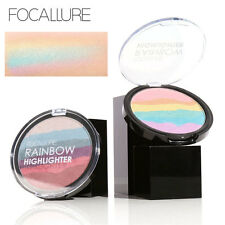 Regenbogen Textmarker Powder Palette Contour Soft Mineral Gesicht Make-up-Kit