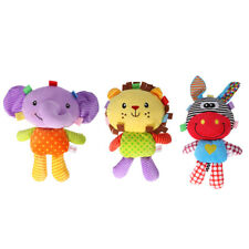 Baby Soft Cartoon Plush Doll with BB Sound Appease story telling for Newborns
