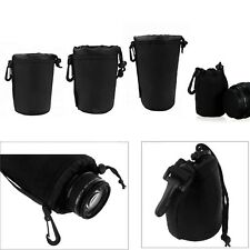 Large/ Medium/Small Waterproof Neoprene Soft Lens Pouch camera bag