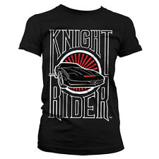 Officially Licensed Knight Rider Sunset K.I.T.T. Women T-Shirt S-XXL Sizes