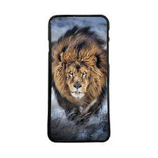 Carcasa de movil funda animales leon para iphone samsung huawei lg xperia