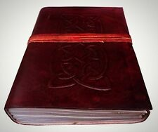 8 Celtic Symbol Handmade Leather Journal Notebook Blank Vintage Diary New