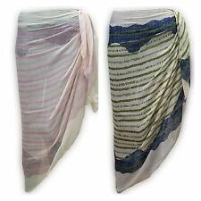LACE OMBRE Sarong Beach POOL Dress Wrap Swimwear Cover Up Unisex 180 X 100