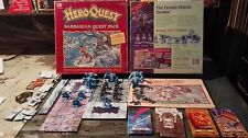 Heroquest Barbarian Quest Pack spare parts & tiles Hero Quest