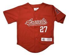 MLB Team Athletics Los Angeles Angels Mike Trout Jersey New 12 or 18 Months, 2T