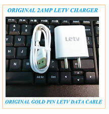 100% Original Charger For Letv LeEco Le 2 Pro Max 2 Type C USB Cable 2AMP