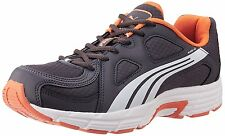 Puma Men's Axis v3 Ind Grey Orange Running Shoes 35% OFF