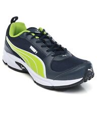 Puma Men's Agility DP Denim Lime Running Shoes 35% OFF