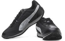 Puma Men's Speeder Tetron II Ind. Black-Puma Silver Running Shoes