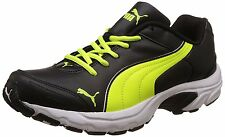 Puma Men's Axis IV XT DP Mesh Running Shoes [ 35% OFF ] Periscope Safety Yellow