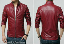 Black Maroon Tan Color Biker Custom Designer Motorcycle Leather Jacket for Men