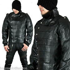 Men' new stylish leather Jacket in Black color hollywood stylish new fashion