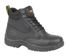 Dr. Martens FS205 Black Safety Work Boots with Steel Toe Cap and Steel Midsole