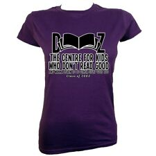 Derek Zoolander The Center For Kids Who Dont Read Good Women's Purple T-shirt