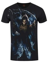 Spiral Ghost Reaper Men's Black T-shirt
