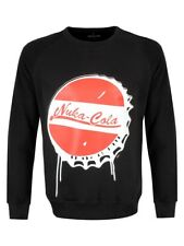Fallout 4 Nuka Cola Bottle Cap Men's Black Sweater