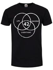 The Answer To Life The Universe & Everything Men's Black T-shirt