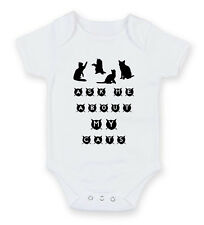Ask Me About My Cats Funny Feline Lady Crazy Body Suit Baby Grow Vest Gift