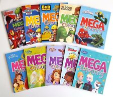 Disney boy & girls coloring and 1000 stickers activity books  NEW!!!!