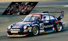 Calcas Porsche 911 GT2 Le Mans 1998 60 1:32 1:43 1:24 1:18 slot decals
