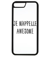 Je Mappelle Awesome Funny Hipster Tumblr France Phone Cover Case Protector