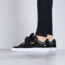 WOMEN'S SHOES SNEAKERS PUMA BASKET HEART PATENT [363073 01]