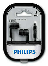 Original Philips SHE1405 Wired Headset Headphones in ear phone With Mic