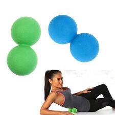 Double Lacrosse Massage Ball Myofascia Trigger Point Stress Relief Massager
