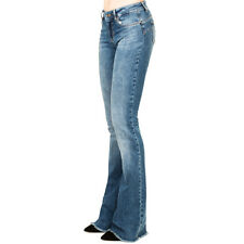 JEANS LIU-JO DONNA MODELLO BOTTON UP A ZAMPA