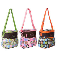 Monkey Printed Baby Nappy Changing Hospital Diaper Bags Maternity Shoulder Bag