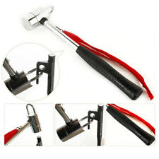 Multifunction Stainless Steel Camping Mallet Hammer Tent Peg Puller Removal Tool