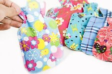 Design Printed Cloth Hot Water Bottle Bag Warm Relaxing Heat/Cold Therapy